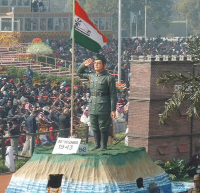 Netaji at Repblic Day Parade